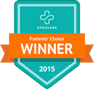 Voted Best Chiropractor 2015 OpenCare.com